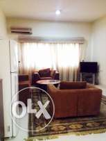 include w & e ...fully furnished 1 bhk apartment in bin omran