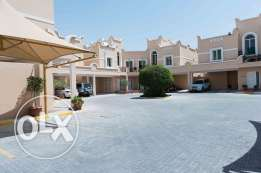 2 bedroom, semi furnished, with back yard, including bills- Abu Hamour