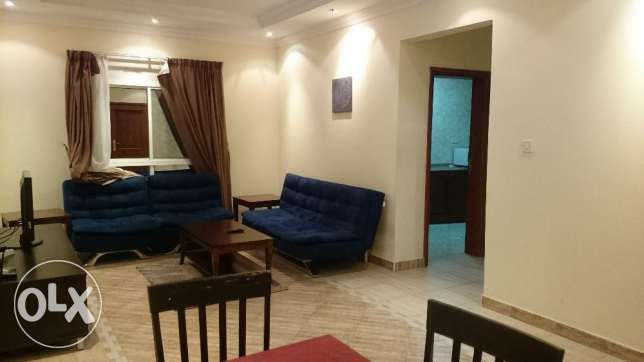 FOR 3 MONTHS RENT IN SADD , fully furnished 1 bedroom apartment السد -  1