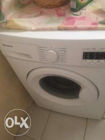 Sharp automatic washing machine- 7kg
