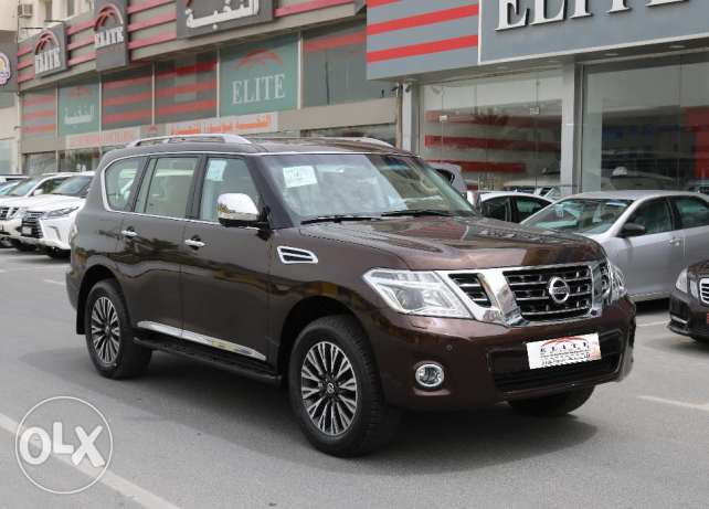New Nissan - Patrol Platinum Model 2017