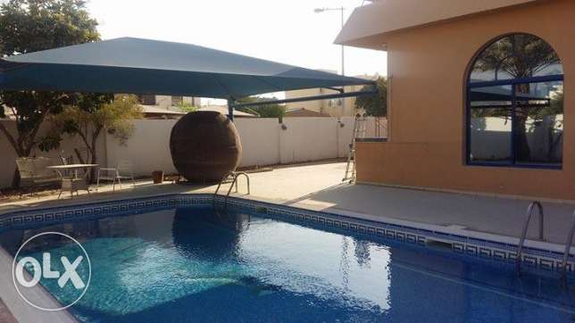 Fully Furnished Massive 1 Bedroom Villa Apartment With Pool In Dafna الدفنة -  6