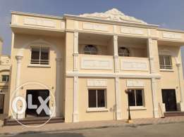 semi furnished villa in garafa