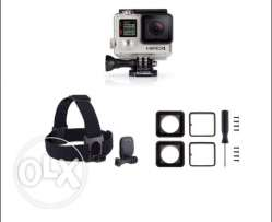 Go pro hero 4+headstrap and lens replacement kit