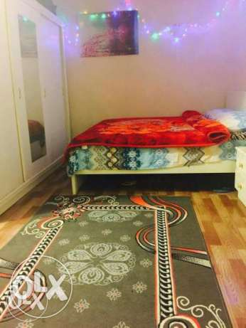 Studio fully furnished in mamoura with Kahramaa , internet (3200) QR