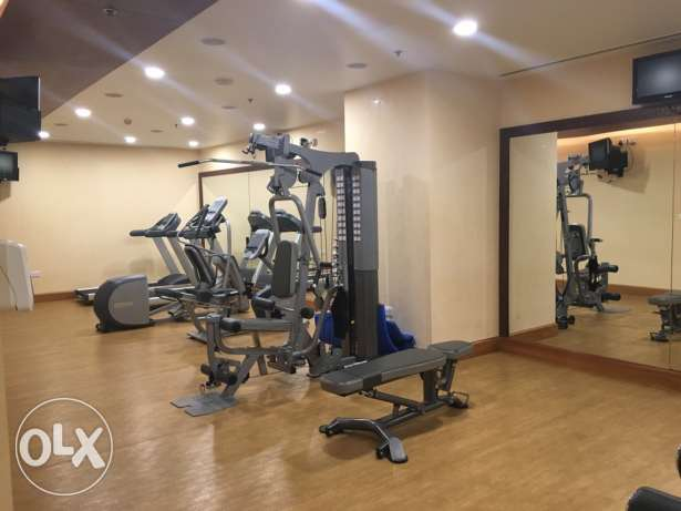 Spacious Studio with balcony furnished! Pearl الؤلؤة -قطر -  3