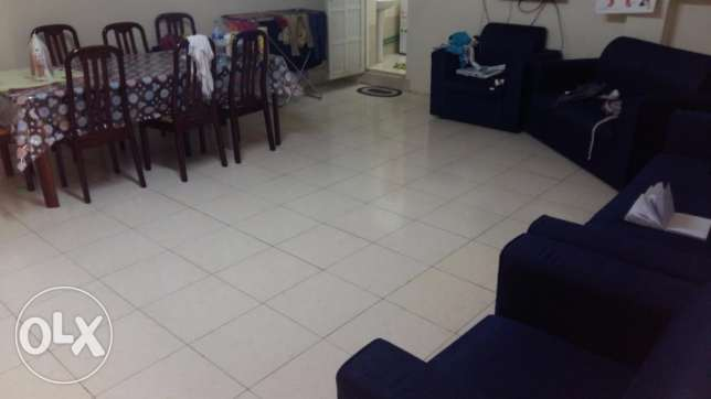Fully Furnished 1bhk in maamoura for indian family