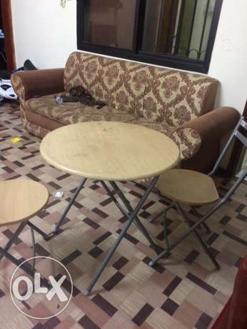 Tea table indoor & outdoor QR 150 only