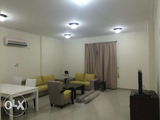 flat for rent in Bin Mahmoud fully furnished inside building s&g