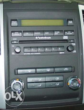 2009-12 Original Nissan Xterra MP3 head unit