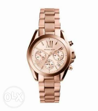original mk women watch available for immediate purchase