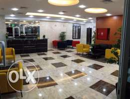 furnished or unfurnished business center OFFICE SPACES for rent