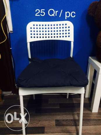Ikea 5 chair with cushion in good condition for sale