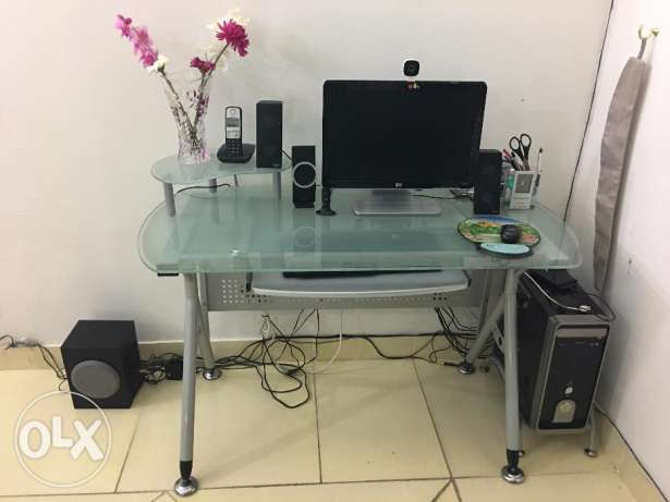 Computer cum Study Table in very good condition for urgent sale