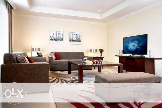 Fully-Furnished 3-BHK Flat in [The Pearl] الؤلؤة -قطر -  8