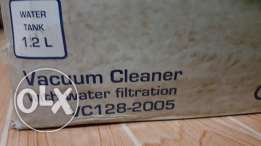 Vacuum Cleaner with Water Filtration